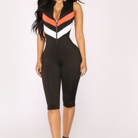 Magnetic Field Jumpsuit - Black