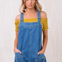 New Kid Denim Romper