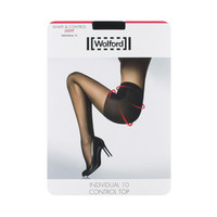 Wolford Womens Nylon Shapes Control-Top Pantyhose