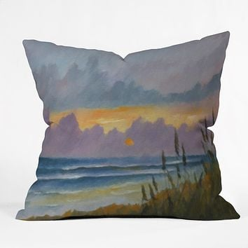 Rosie Brown Morning Has Broken Throw Pillow
