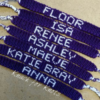 Custom Name Bracelet Inspired by Pretty Little Liars!