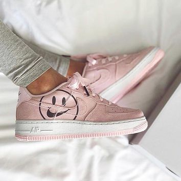 Nike Air Force 1 AF1 Smiley face Sneakers