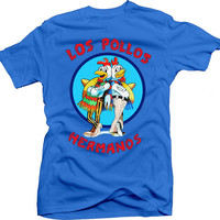 Breaking Bad inspired shirt - Los Pollos Hermanos logo - Cool shirt for a fan