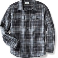 Old Navy Plaid Button Front Shirt