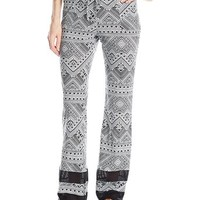 Element Juniors Totem Printed Wide Leg Soft Pant