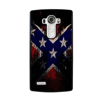 browning rebel flag lg g4 case cover  number 1