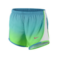 "Nike 3.5"" Tempo Graphic Girls' Running Shorts Size L (Green)"