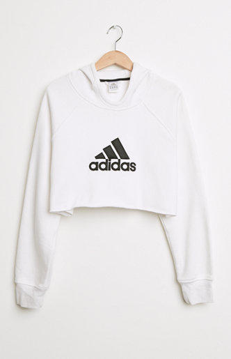 retro gold cropped adidas pullover hoodie from pacsun epic. Black Bedroom Furniture Sets. Home Design Ideas