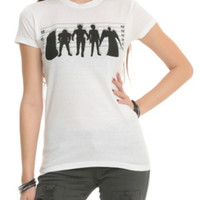Doctor Who Monster Lineup Girls T-Shirt
