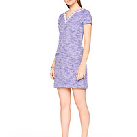 Kate Spade Graphic Tweed Tunic Dress