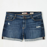 Short Length Beauty at the Beach Shorts in Medium Wash - Plus Size
