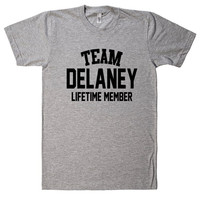 Team Name Lifetime Member T-Shirt DELANEY