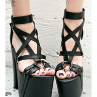 Current Mood Satan Says Platforms | Dolls Kill