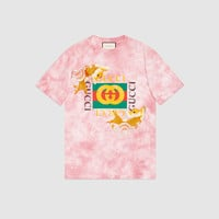 Gucci Fish embroidered cotton T-shirt