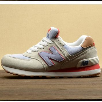 New balance Leisure shoes running shoes men's shoes for women's shoes couples N word B
