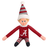 Alabama Crimson Tide Plush Elf