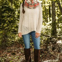 Toasting S'mores Sweater-Oatmeal