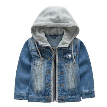 Trendy New 2017,Boys Jackets,Boy's Denim Outercoat,Children Outerwear,Spring and Autumn Clothes,Kids Jeans Clothes,For 3-9T AT_94_13