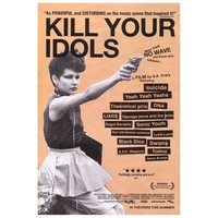 Kill Your Idols Poster Movie 27 x 40 In - 69cm x 102cm Yeah Yeah Yeahs Suicide Theoretical Girls DNA Liars Teenage Jeus and the Jerks