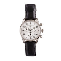 Mougin & Piquard For J.Crew Chronograph Watch In Silver
