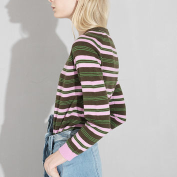 Striped Sweater Top