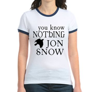 You Know Nothing Jon Snow T> You Know Nothing Jon Snow> Scarebaby Design
