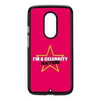 Celebrity Hater Black Hard Plastic Case for Moto X2 by Chargrilled