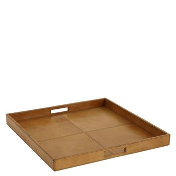 Brown Tray | Eichholtz Dolce