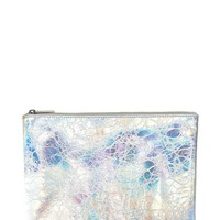 Metallic Makeup Pouch