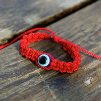Evil Eye Bracelet. Red Bracelet, Children, teen and adult bracelet, mal de ojo, pulsera roja
