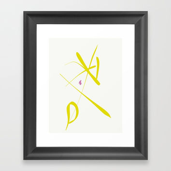 Percentage is not the whole! Framed Art Print by David Darcy