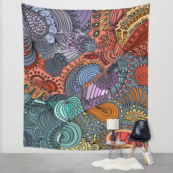 OddBall Wall Tapestry by DuckyB (Brandi)