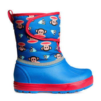 H&M - Winter Boots - Blue/Paul Frank - Kids