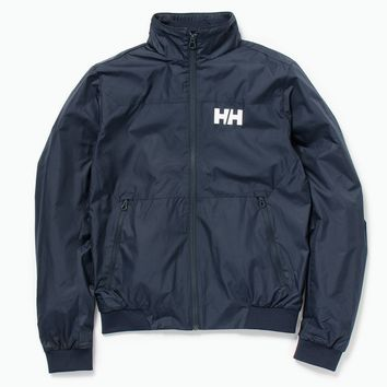 Crew Windbreaker Jacket, Navy