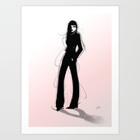 Stylish Art Print by allisonreich