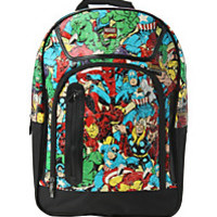 Marvel Comics Character Collage Backpack
