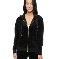 Leopard Velour Jacket by Juicy Couture,