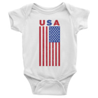 USA Infant short sleeve Onesuit