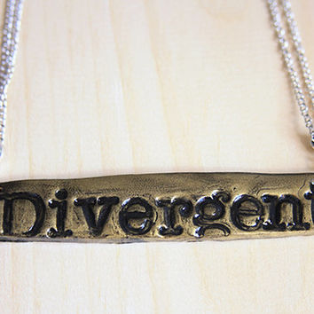 Divergent // necklace