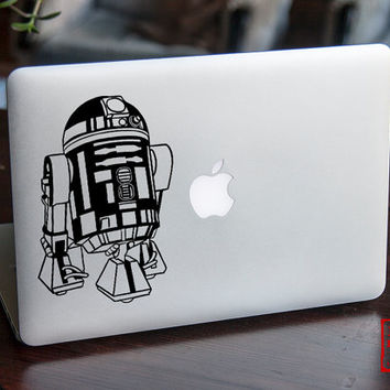 Star Wars Decal | Star Wars R2D2 decal | Macbook decal