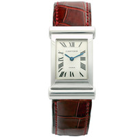 Cartier White Gold Limited Series Driver Wristwatch