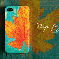 Apple iphone case for iphone iphone 5 iphone 4 iphone 4s iPhone 3Gs  : Maple leaf pattern