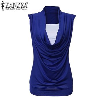 Women Summer sleeveless Blouses