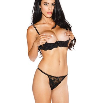 Best Black Shelf Bra Products on Wanelo