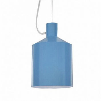 Modern concise simple IKEA lovely creative oil tank industrial pendant lamp light