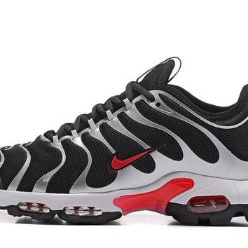 Nike Air Max Plus Tn Ultra Sport Shoes Casual Sneakers - Silver Black