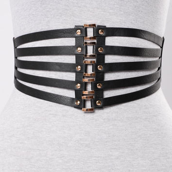 Link Up Belt - Black