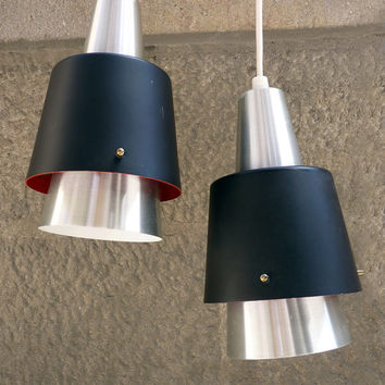 Corona pendant light by Jo Hammerborg for Fog & Morup, 1960s