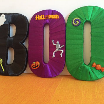 Halloween Decor-Decorative Letter Set by Tightly Wound Designs
