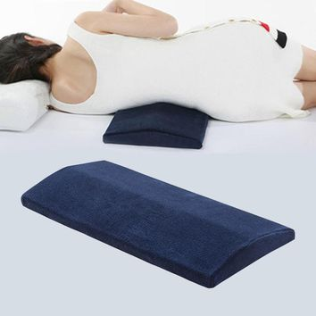 Triangle Bamboo Charcoal Lumbar Legs Pillow Sleep Waist Back Support Cushion Pad Pregnant Pillow Bedding Cervical Protection